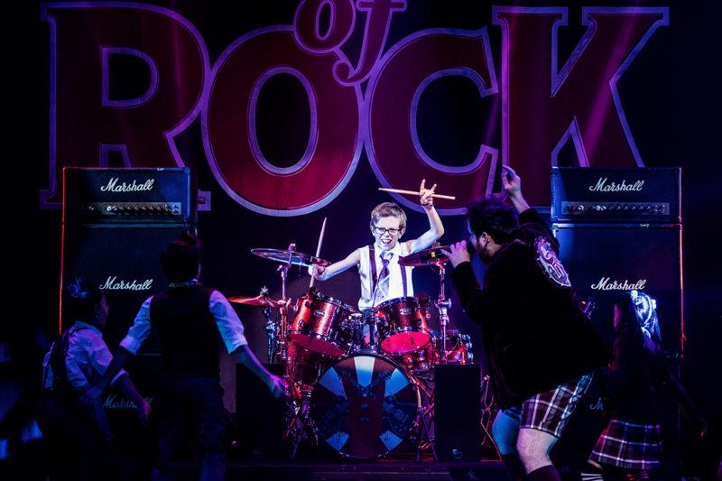 Cameron Trueblood in School of Rock Tour.