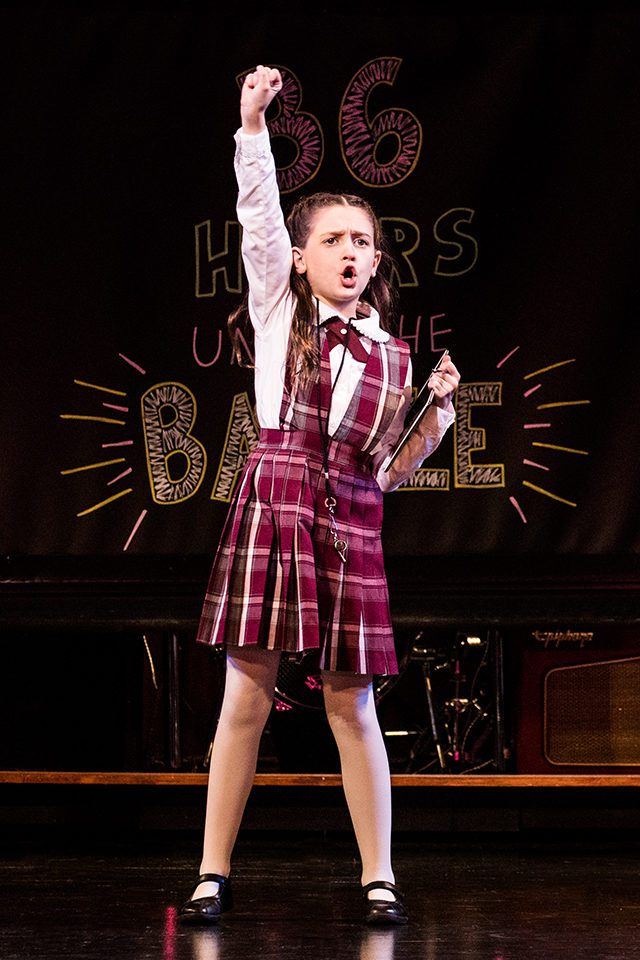 Sami Bray in the School of Rock Tour.