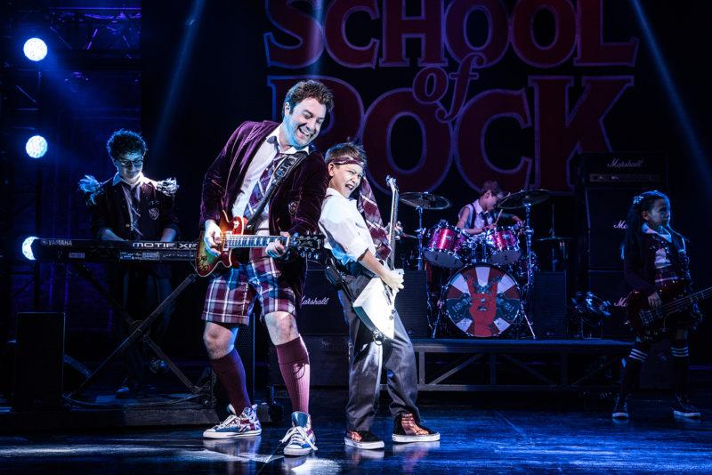 School of Rock Tour.