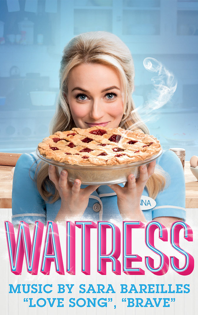 "Waitress Logo Music by Sara Bareilles (""Love Song,"" ""Brave"")"