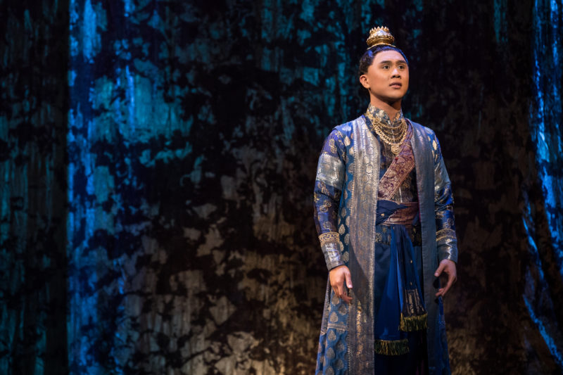 Timothy Matthew Flores as Prince Chulalongkorn in Rodgers & Hammerstein's THE KING AND I. Photo by Matthew Murphy.