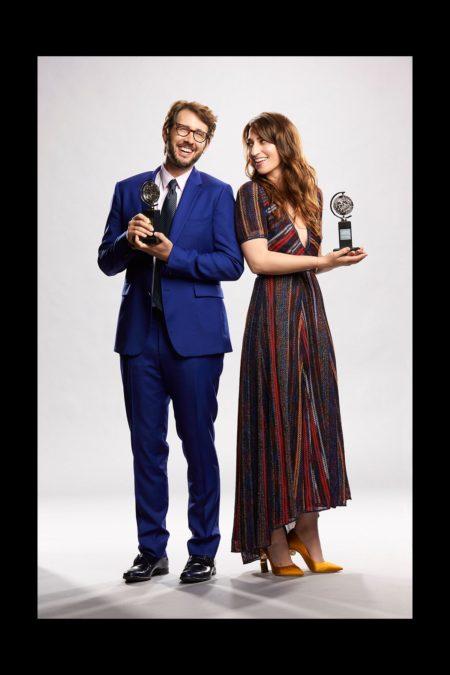 Tony Awards 2018 - Sara Bareilles - Josh Groban 6/18 - Cliff Lipson / CBS