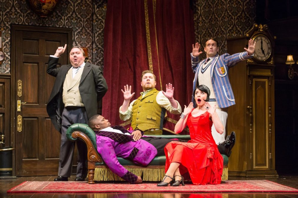 National Tour Show Photos - The Play That Goes Wrong - 9/18 - Photo: Jeremy Daniel