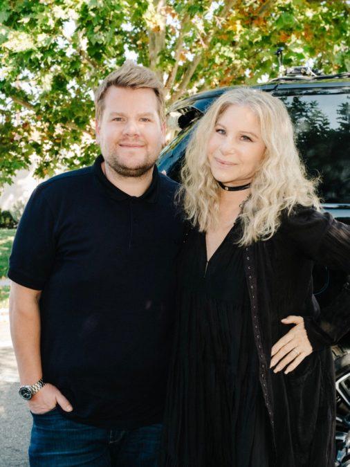 James Corden - Barbra Streisand - 11/2018 - Terence Patrick/CBS