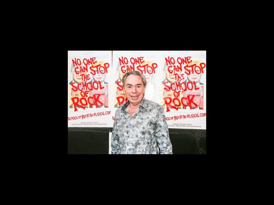 OP - School of Rock - wide - Andrew Lloyd Webber -10/15