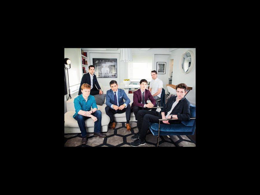 Tony Nominee - Group Photo - wide - 6/15 - Steven Boyer - Robert Fairchild - Tony Yazbeck - Alex Sharp - Micah Stock - Matthew Beard