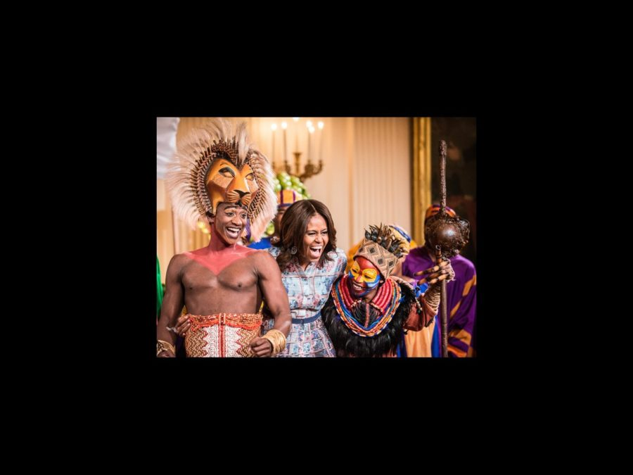 HS - First Lady - Michelle Obama - Lion King - wide - 7/14