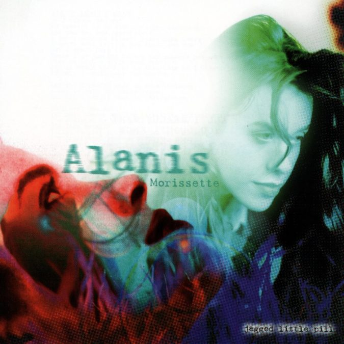 Alanis Morissette - Jagged Little Pill - album art - 1995