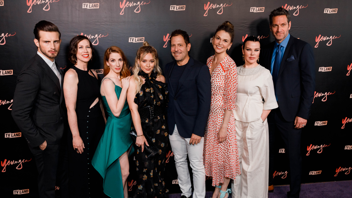 OP - Younger - TV Land - Premiere - 6/17 - Emilio Madrid-Kuser