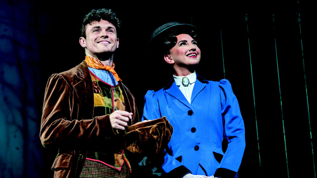 Charlie Stemp as Bert and Zizi Strallen as Mary Poppins - London - West End - 8/21 - Johan Persson