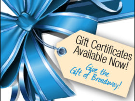 Broadway Across America offers Gift Certificates
